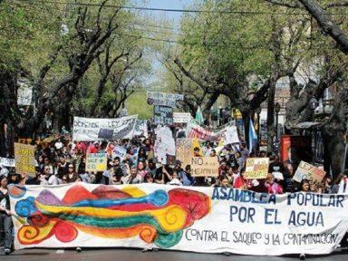 Na defesa da saúde, da água e vinhedos, argentinos vencem mineradoras