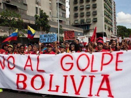 """Golpistas criam 68 mil contas falsas dizendo """"não há golpe na Bolívia"""""""