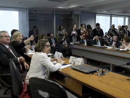 """""""Carlos e Eduardo Bolsonaro são os cabeças da milícia virtual"""", diz deputada na CPI"""
