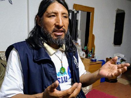 """David Inca: """"na Bolívia o que temos é agressão covarde aos direitos humanos"""""""