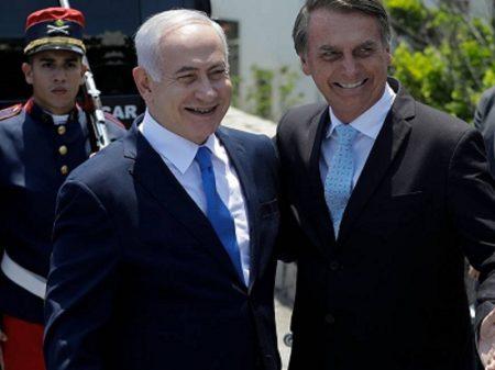 Bolsonaro e o indiciado Netanyahu agora juntos no 'combate à corrupção'