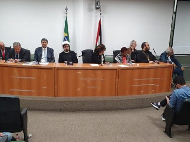 Deputadas paulistas promovem ato solidário ao povo palestino