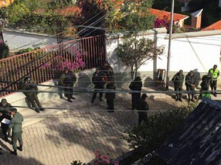 México denuncia à ONU cerco a sua embaixada em La Paz
