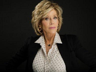 """Acusar DiCaprio e ONGs por queimadas """"é patético, é risível, é uma piada"""", diz  Jane Fonda"""