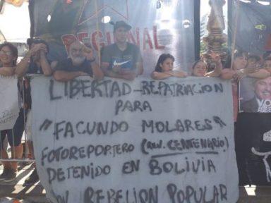 Preso pela ditadura boliviana, repórter argentino está em estado grave