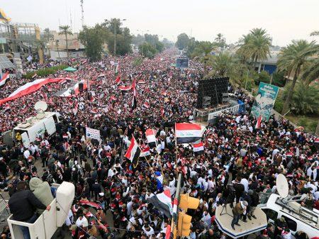 Bagdá exige nas ruas a retirada das tropas dos EUA