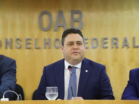 Justiça rejeita denúncia contra o presidente da OAB