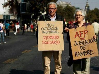 Fracasso da Previdência privatizada no Chile faz Piñera propor mudanças