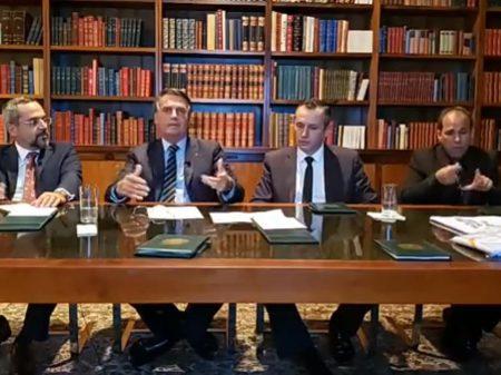 Ministério Público defende anular os atos de Alvim por propagar nazismo