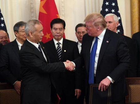 China e EUA assinam acordo comercial