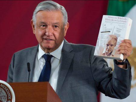 Presidente mexicano  defende libertação do jornalista Assange