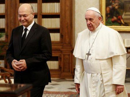 Papa apoia exigência do Iraque de retirada das tropas dos EUA do país