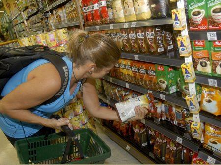 Preços ao consumidor ficam acima da inflação