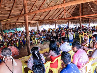 Líderes indígenas se unem contra projeto do governo para destruir suas terras