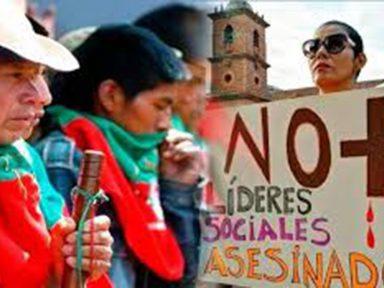 25 ativistas sociais foram mortos só em janeiro na Colômbia