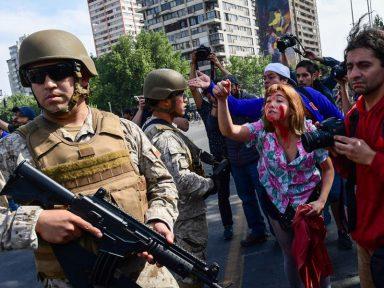22 mil chilenos são presos nas manifestações pela volta da Previdência Pública