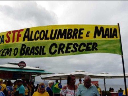 Bolsonaristas chamam manifestação para coagir o Congresso Nacional
