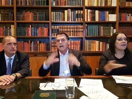 Bolsonaro ataca Cid, repete versão miliciana dos tiros e endossa crime contra senador