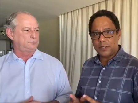 """Ciro e Orlando """"renovam afinidades"""" para """"salvar o Brasil do desastre de Bolsonaro"""""""