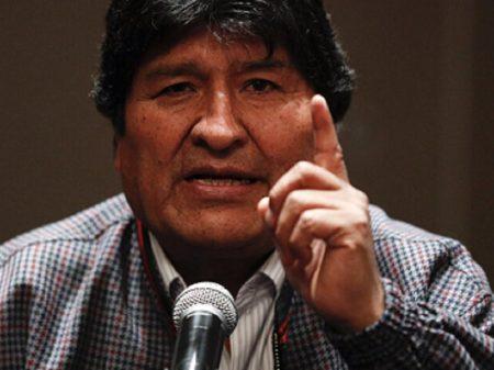 """""""Golpistas ameaçam destruir o que construímos junto com o povo boliviano"""", afirma Evo"""
