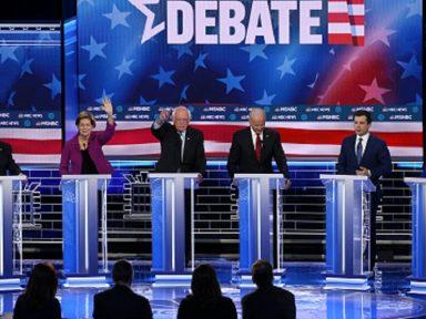 Debate democrata: Sanders defende mobilização popular para derrotar Trump