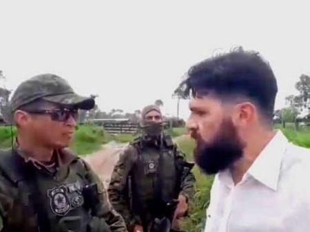 Antropólogo bolsonarista é preso ao tentar impedir fiscalização do Ibama