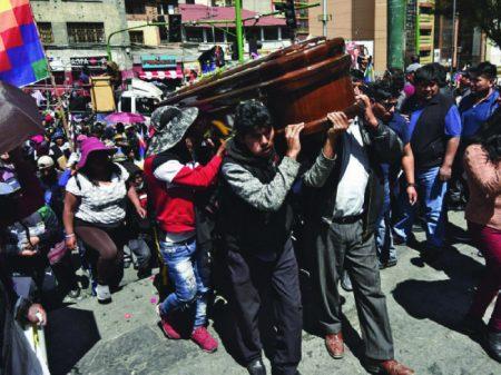 Ditadura boliviana terá que reparar vítimas do massacre que fez em Senkata