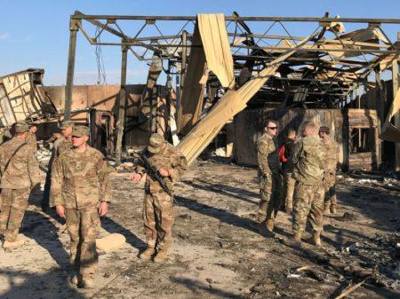 Pentágono: passa de 100 total de soldados feridos na retaliação iraniana