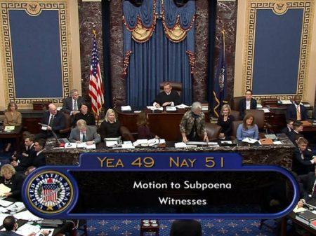 Impeachment: Senado acoberta Trump ao recusar testemunhas e novas provas