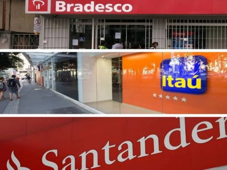 Três bancos lucram R$ 68 bi na esteira da crise