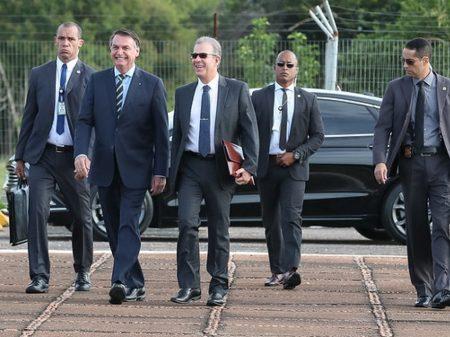 Segurança de Bolsonaro, 39 anos, é internado em estado grave por coronavírus
