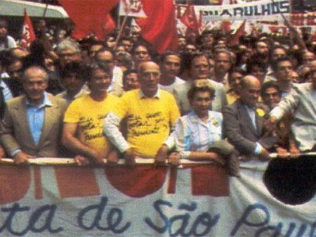 """Bucci: """"por uma união de forças como nas Diretas Já para frear o fascismo"""""""