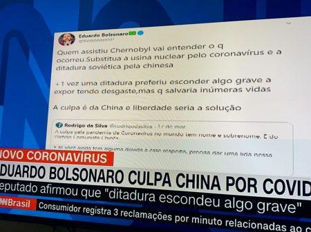 Bancada do PCdoB repudia ataque de Eduardo Bolsonaro à China