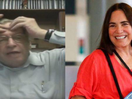 Olavo de Carvalho, o guru de Bolsonaro, ataca Regina Duarte