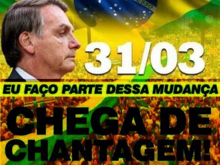 Bolsonaristas querem atacar democracia com ato na porta de quartéis