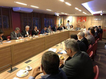Presidentes e líderes de 8 partidos se unem em defesa da democracia e dos direitos