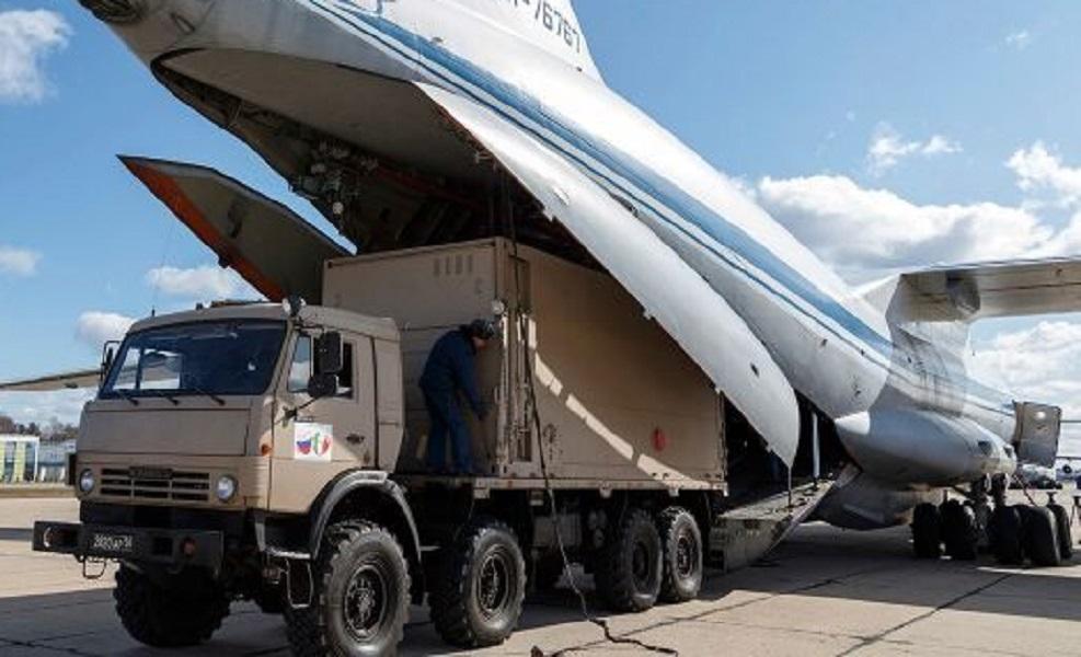 Nove aviões levantam voo da Rússia rumo à Itália com equipamentos ...