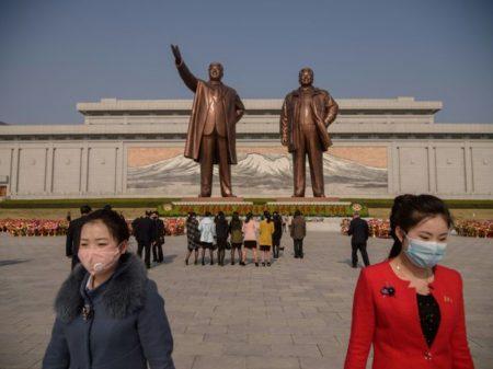 Coreia Popular mantém normas da OMS durante homenagens a Kim Il Sung