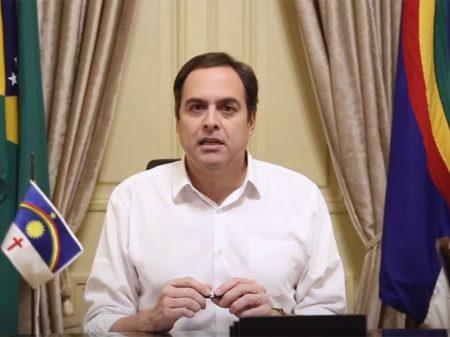 Paulo Câmara entrega 230 leitos contra a Covid-19 e diz que quarentena 'é fundamental'