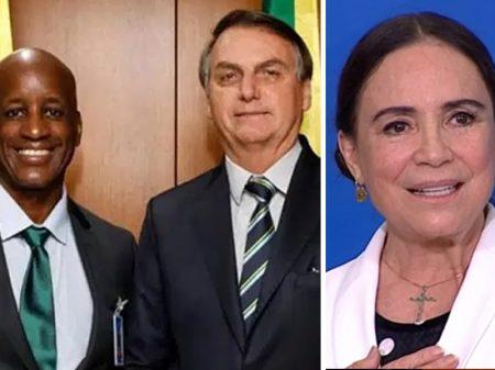 Com apoio de Bolsonaro, capitão do mato faz ataque contra Regina Duarte