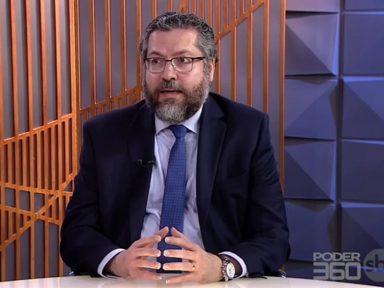 Entrevista de Ernesto Araújo foi, literalmente, uma coisa de louco