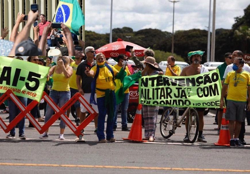 Brasil inteiro repudia provocação de Bolsonaro contra a democracia ...