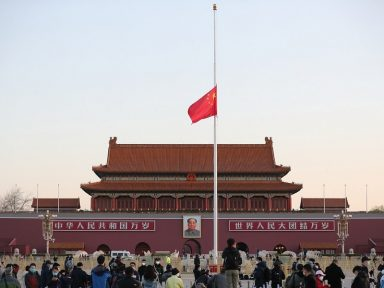 China presta homenagem às vítimas da pandemia