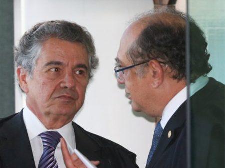 Ministros Marco Aurélio Mello e Gilmar Mendes repudiam o golpismo