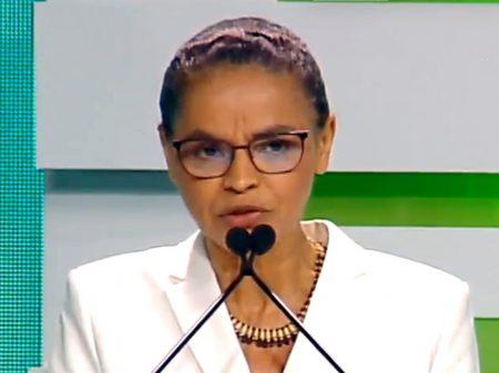 """Fique em casa, salve a vida"", pede Marina Silva"