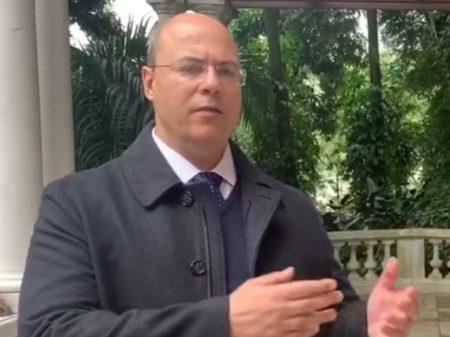 """Witzel adverte Bolsonaro: """"atrapalhar a quarentena é crime de responsabilidade"""""""