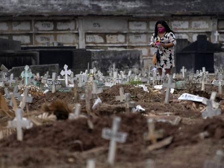 Com 9.897 óbitos por Covid-19, número de mortos no Brasil já é o dobro da China
