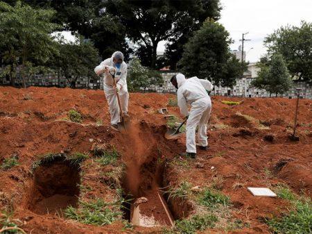 Com 254 mil casos, Brasil torna-se o terceiro país no mundo com mais infectados por Covid-19