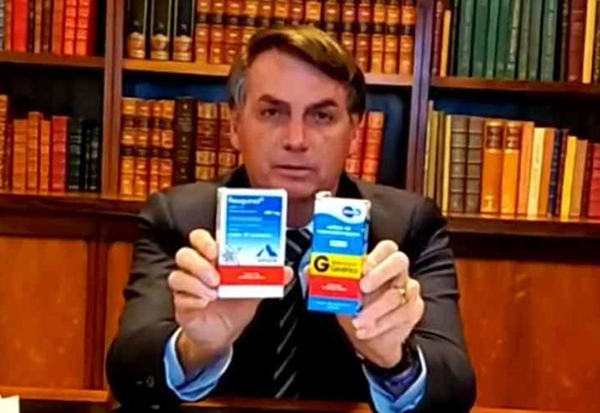 Bolsonaro continua sem governar. Só quer distribuir cloroquina ...