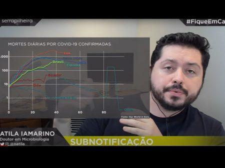 """Atila Iamarino defende """"lockdown"""" para barrar o avanço do coronavírus"""